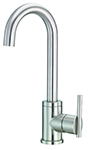 Danze D150558SS Parma 1H Bar Faucet w/ Side Mount Handle 1.75gpm Stainless Steel