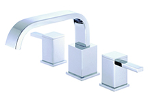 Danze D300933T - Reef Two Handle TRIM, Roman Tub, , no spray widespread valve - Polished Chrome