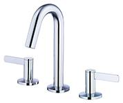 Danze D304030 - Amalfi Two Handle Mini-Widespread Lavatory Faucet with Touch Down Drain - Polished Chrome