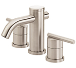 Danze D304058BN - Parma Two Handle Widespread Lever Handle MPU - Tumbled Bronzeushed Nickel