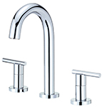 Danze D304658 Parma Trim Line 2H Mini-Widespread Lavatory Faucet w/ Metal Touch Down Drain 1.2gpm Chrome