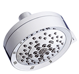 Danze D460056 -  5F showerhead with brass ball joint, 2.5 gpm max flow - Polished Chrome