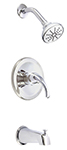 Danze D500011T - Melrose Single Handle TRIM Tub & Shower Lever Handle  - Polished Chrome