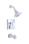 Danze D500033T - Reef Single Handle Tub & Shower trim Lever Handle w stop - Polished Chrome