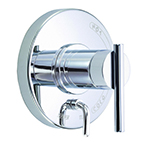 Danze D500458T - Parma Single Handle Pressure Balance Mixing Valve Only with Diverter TRIM Kit Lever Handle - Polished Chrome