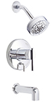 Danze D510058T - Parma Single Handle TRIM Tub & Shower Lever Handle  - Polished Chrome