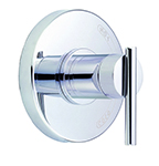 Danze D510458T - Parma Single Handle Pressure Balance Mixing Valve Only TRIM Kit Lever Handle - Polished Chrome