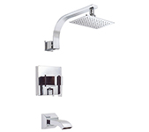 Danze D512044T - Sirius Single Handle TRIM Tub & Shower Lever Handle, 2.0gpm showerhead - Polished Chrome