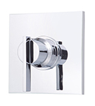 Danze D562044T - Sirius Single Handle TRIM 3/4-inch Thermostatic Shower Valve Lever Handle - Polished Chrome