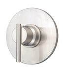 Danze D562058BNT - Parma Single Handle TRIM 3/4-inch Thermostatic Shower Valve Lever Handle - Tumbled Bronzeushed Nickel